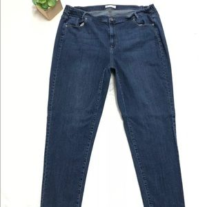 J.Jill Denim 22 Straight Leg Weekender Jeans